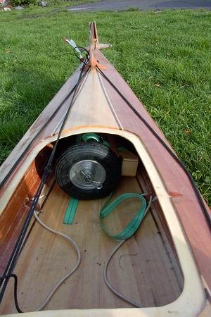 Chariot kayak demontable